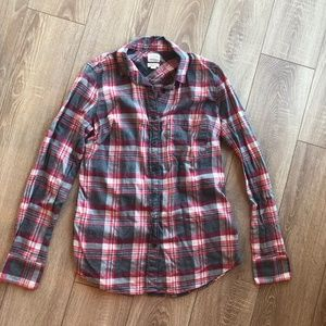 J.Crew Classic button-down flannel perfect fit XS